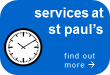 services at st pauls blue butt