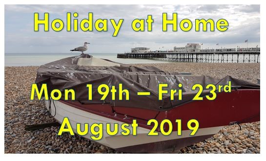 holiday at home 2019